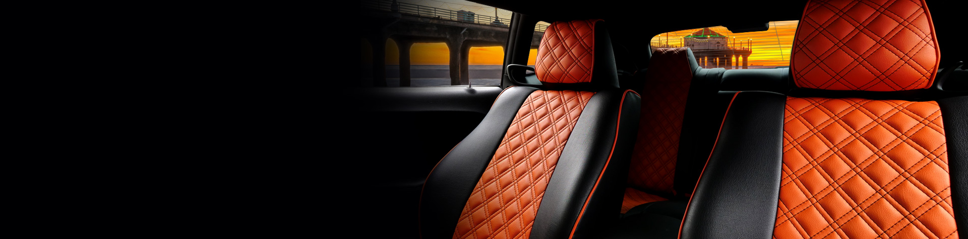 Perforated leather insert type